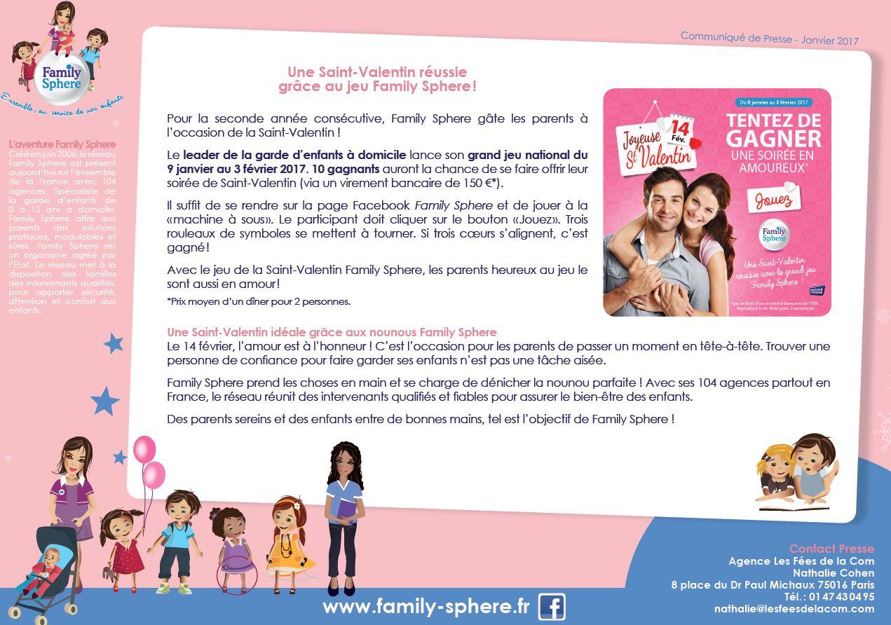 Pour la seconde année consécutive, Family Sphere gâte les parents à l'occasion […]