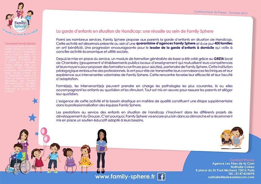 Parmi ses nombreux services, Family Sphere propose aux parents la garde d'enfants […]