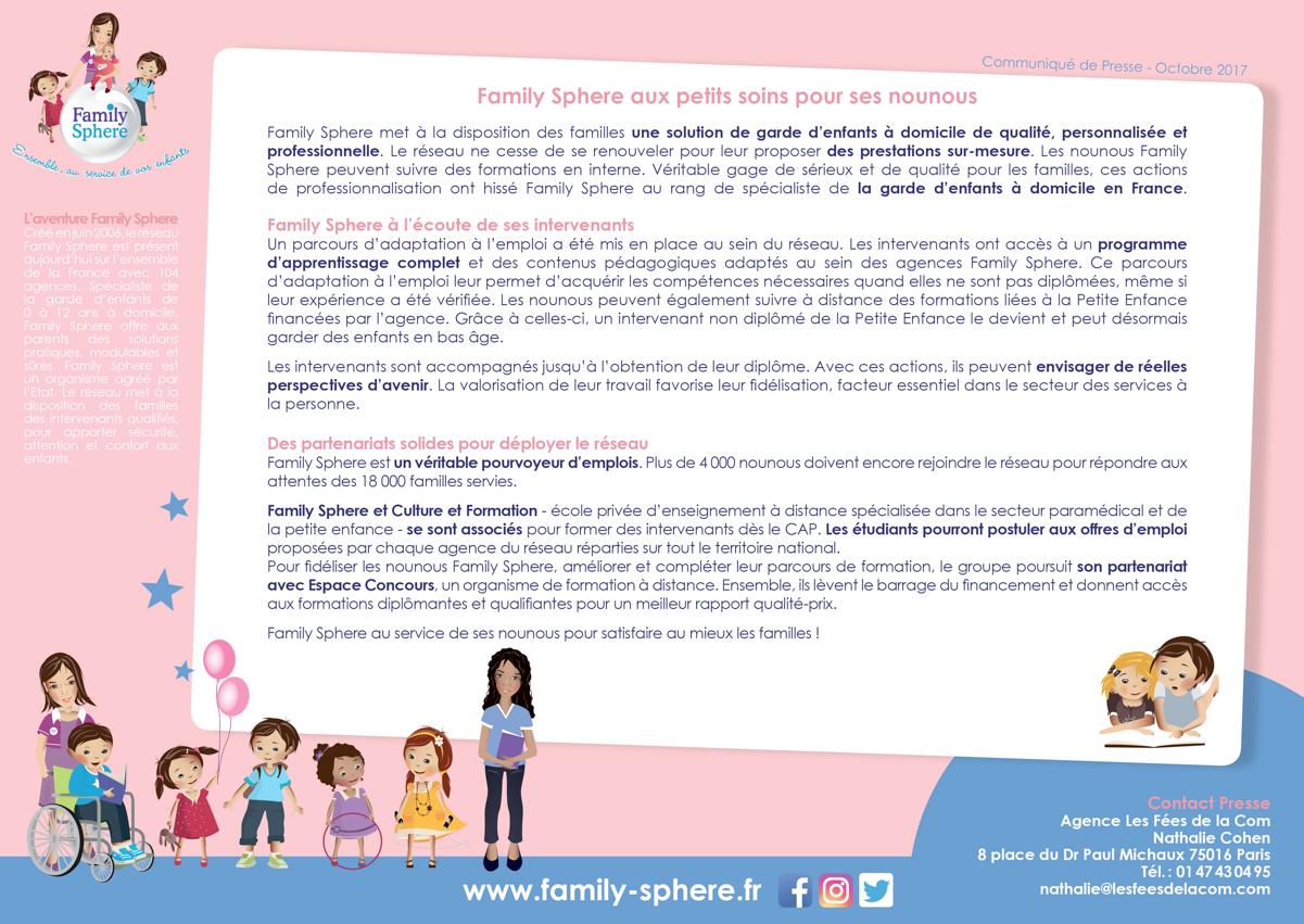 Family Sphere met à la disposition des familles une solution de garde […]