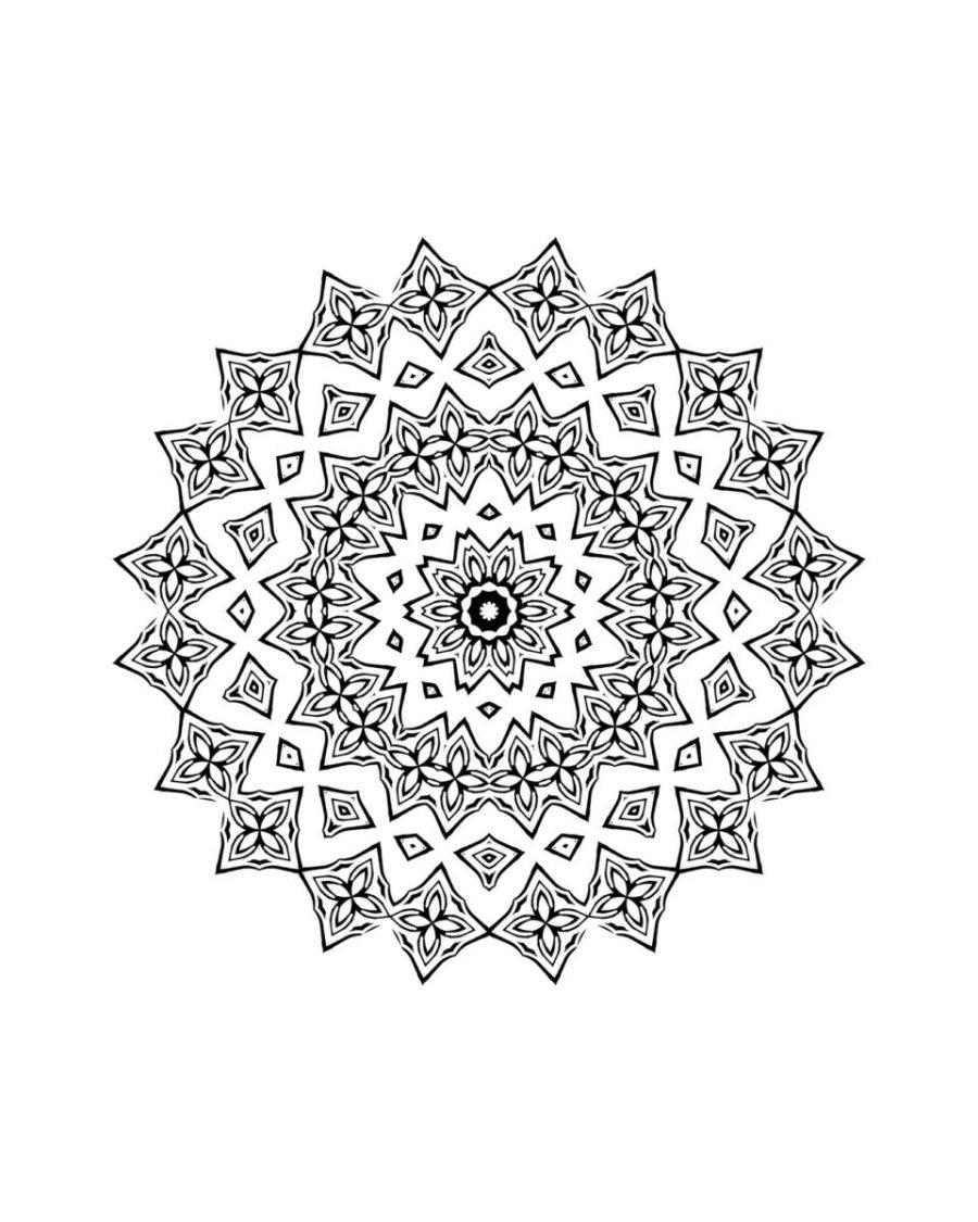 Coloriage De Mandala Pour Enfant A Imprimer Le Mag Family Sphere