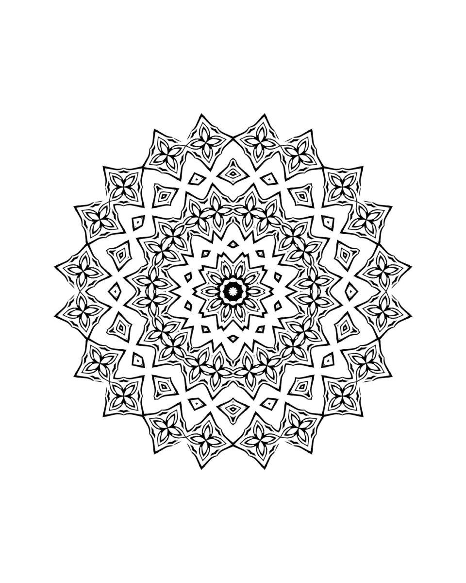 Coloriage De Mandala Pour Enfant A Imprimer Family Sphere Garde