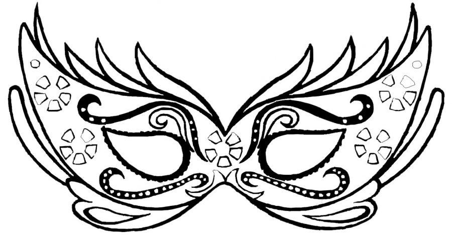 Un Masque De Carnaval A Colorier Le Mag Family Sphere