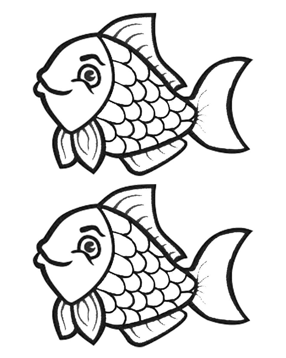 Dessin de poisson d avril pour enfants family sphere - Dessin de poisson facile ...