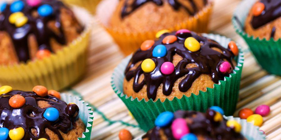 cupcakes smarties